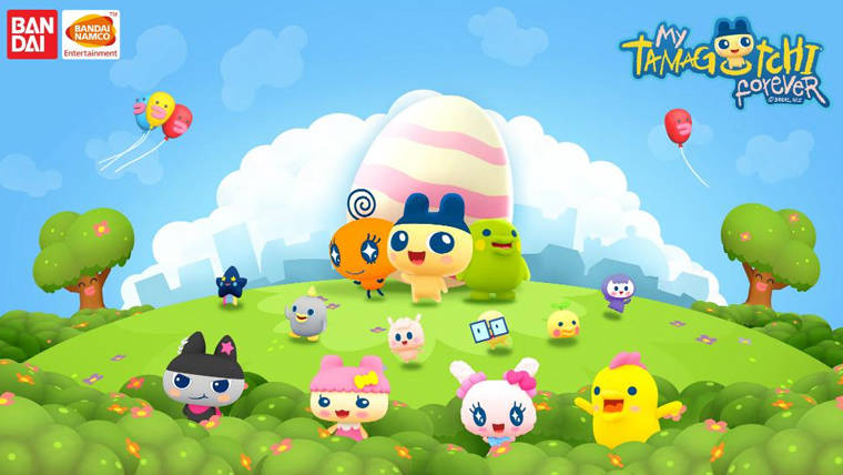 My Tamagotchi Forever Coming to iOS & Android in 2018