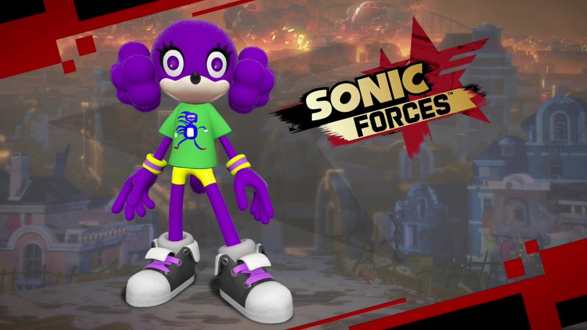 Sanic in-game t-shirt comes to Sonic Forces as free DLC