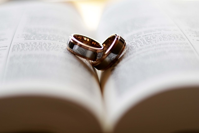 wedding rings vows marriage commitment husband wife