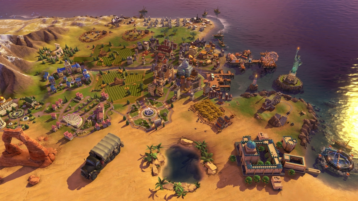 Korea is coming to Civilization 6 in the Rise and Fall expansion