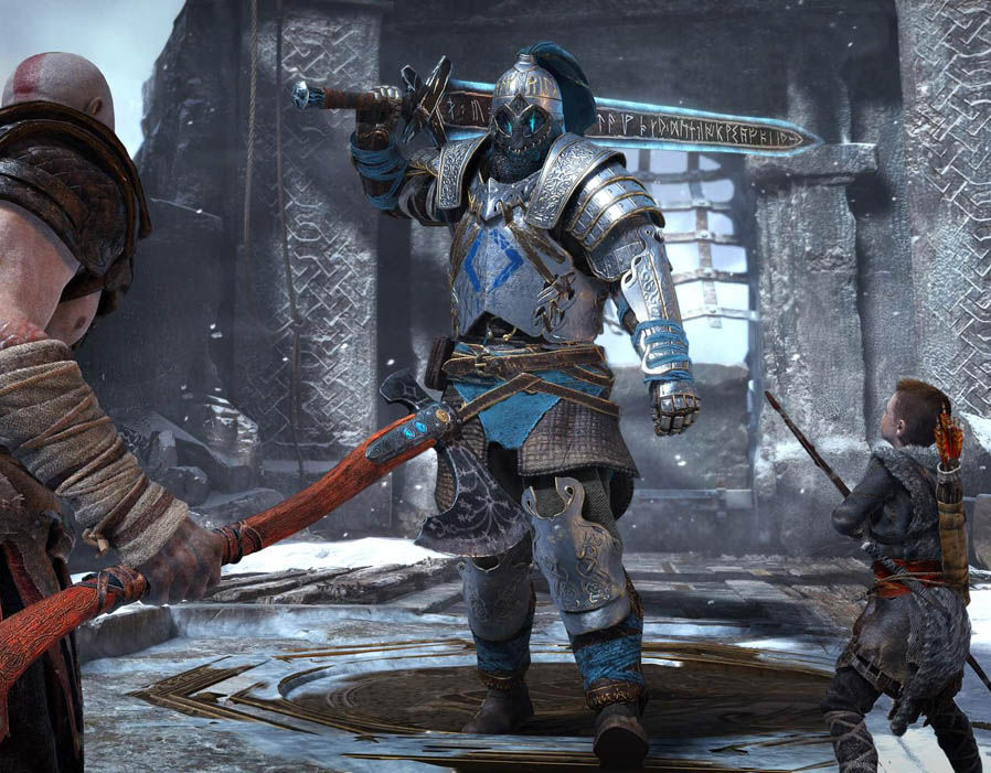 Potential God of War release date leaked on PSN