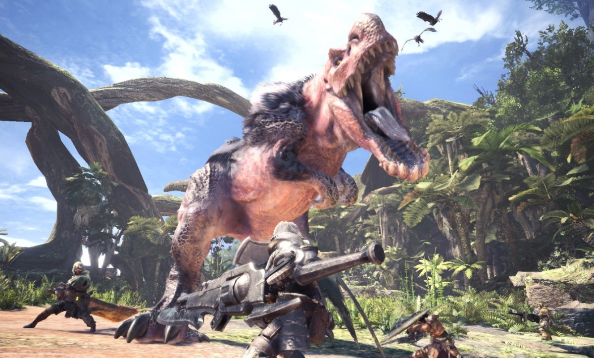 Monster Hunter World trailer reveals new pet at PSX 2017