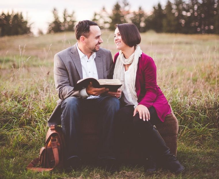 couple calling husband wife love God Jesus serve ministry