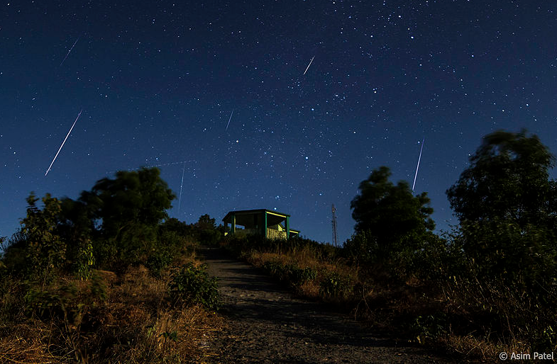 Capture the most picturesque event of the year tonight : Geminid Meteor Shower