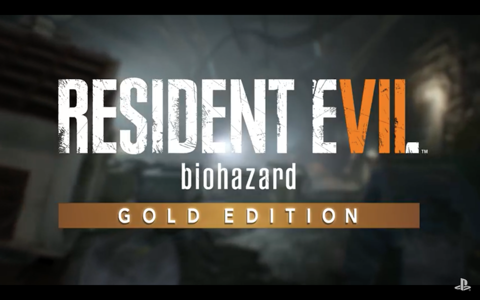 Resident Evil 7 Gold Edition gets a launch video