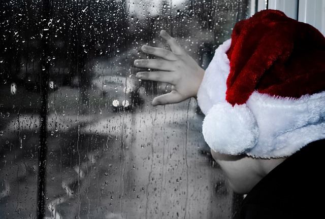 sad kid christmas mourn miss loss loved one