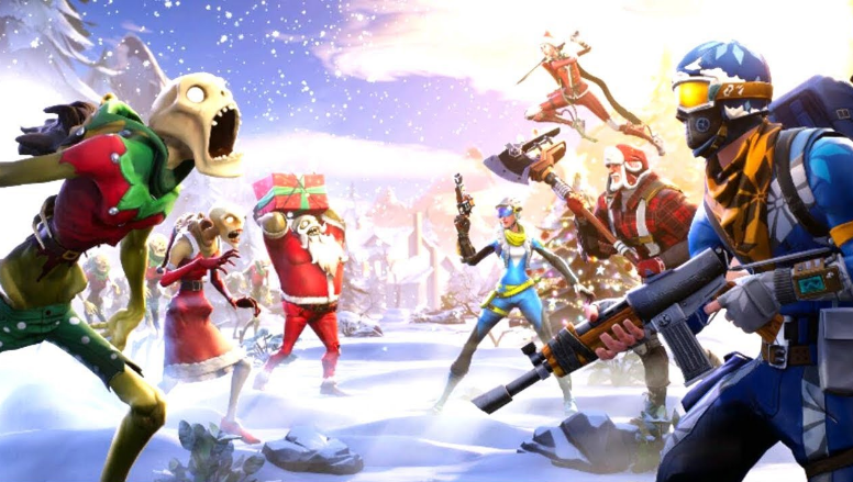 Fortnite gets holiday event - and in-game spending in Battle Royale mode