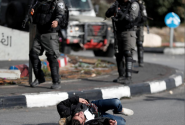 Israeli troops kill four Palestinians, wound 160 demonstrating over Jerusalem