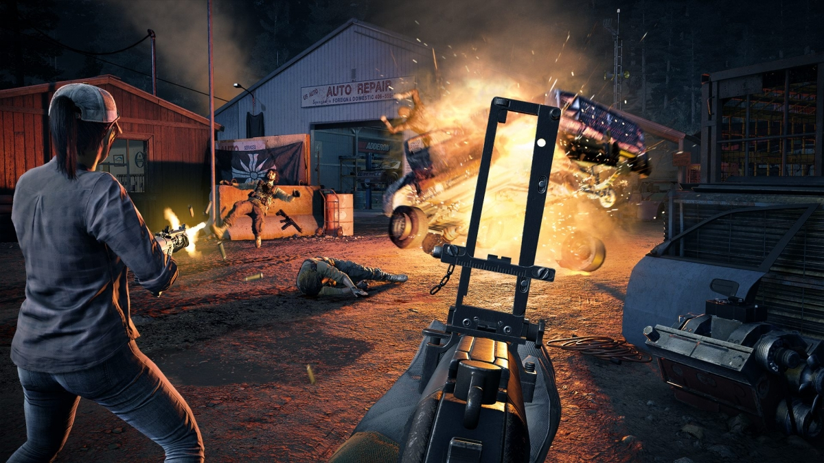 Far Cry 5 'The Resistance' trailer, gameplay videos