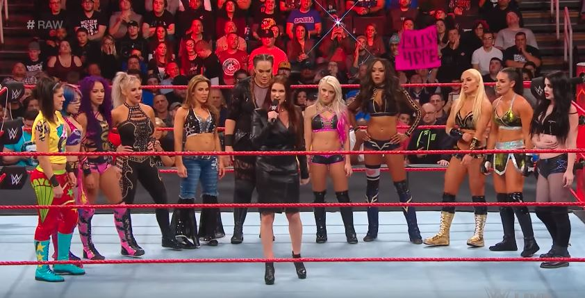 YouTube WWEStephanie Mc Mahon announces first-ever Women's Royal Rumble match in WWE history to take place in 2018