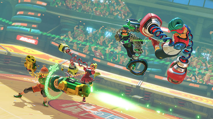 ARMS Online Tournament, Global Testpunch Announced