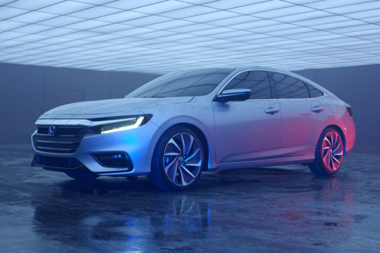 2019 Honda Insight Release Date Specs News Hybrid Prototype To