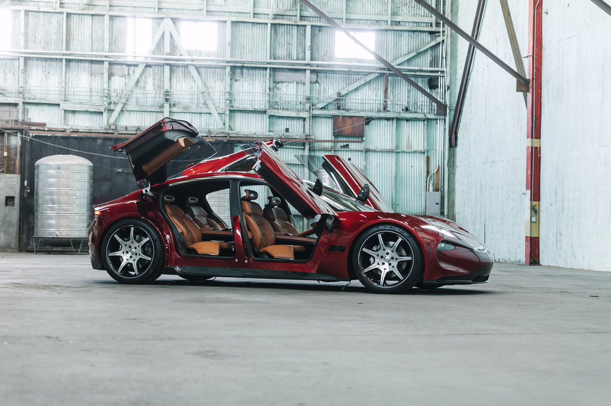 Fisker EMotion EV and flexible solid-state battery debut at CES