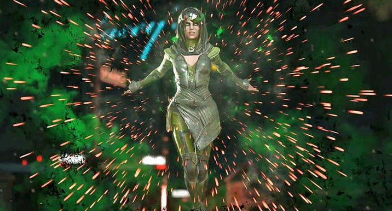 Injustice 2 Trailer Reveals Enchantress' Move Set