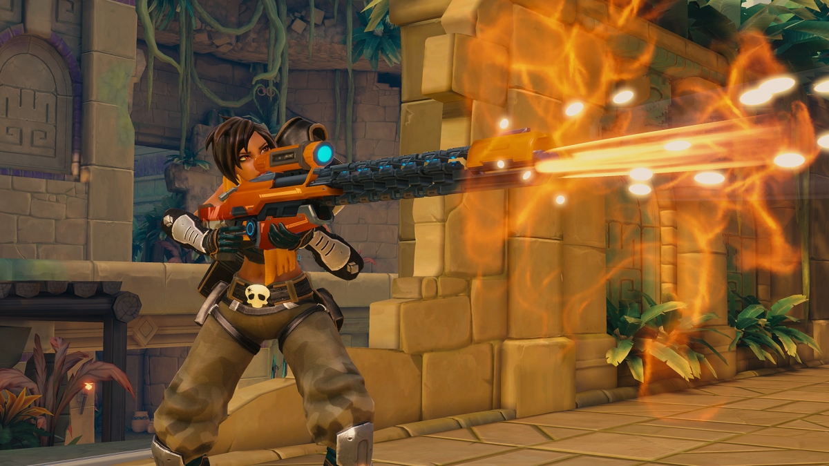 Here's nearly an Hour of Paladins: Battlegrounds Gameplay Footage