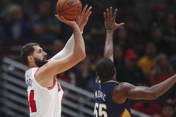 Detroit Pistons interested in acquiring Nikola Mirotic