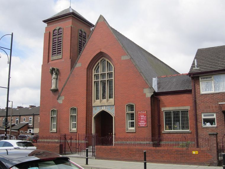 St Joseph's Church in Reddish