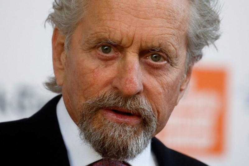 Michael Douglas denies masturbating in front of female ex-employee