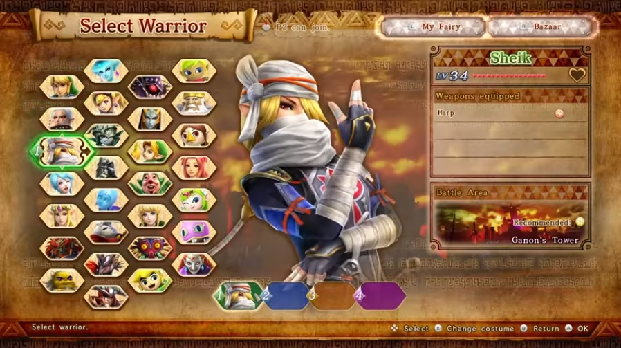 Hyrule Warriors confirmed for Switch in 'Definitive Edition' form
