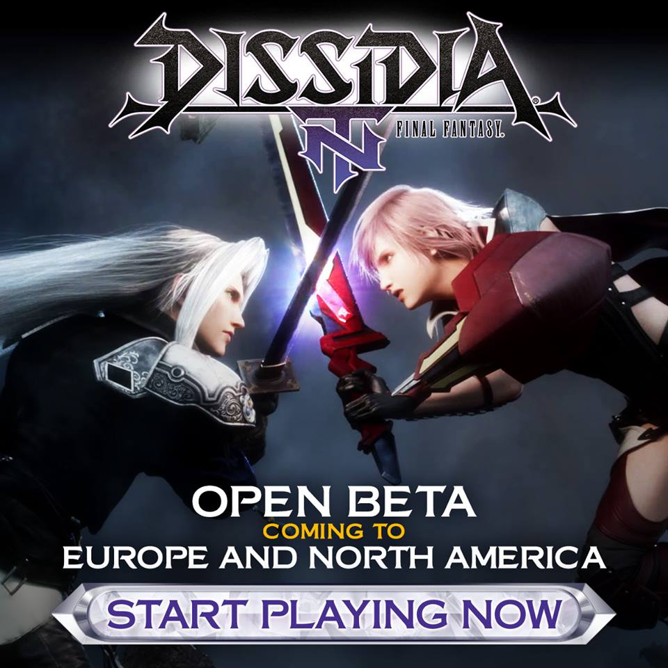 Dissidia Final Fantasy NT North America and Europe open beta trailer