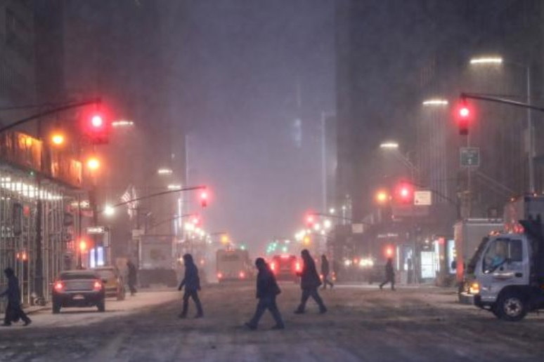 Snow and cold will continue, then warmer for weekend