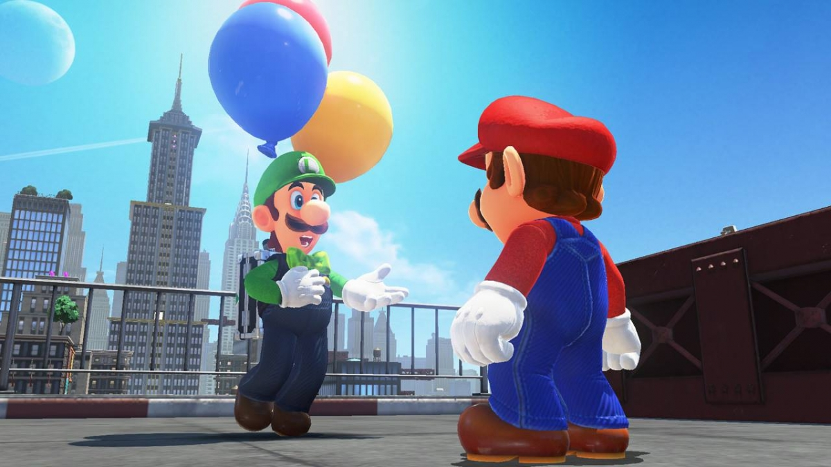 Super Mario Odyssey DLC next month brings a new character surprise