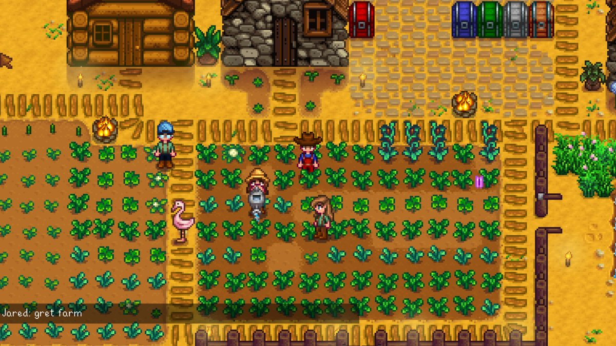 Stardew Valley Developer Shares Screenshot of Multiplayer Mode