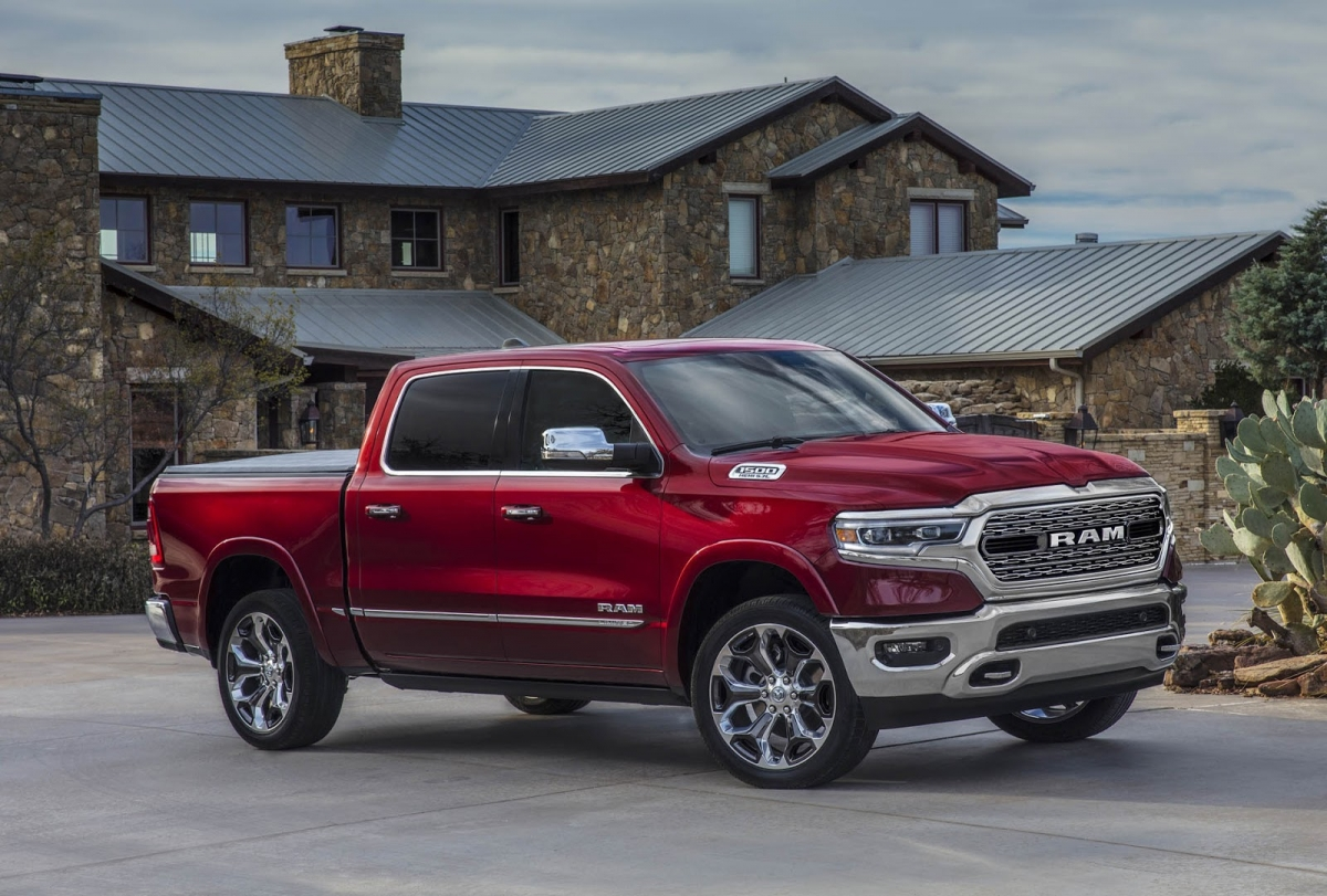 RAM REVEALED FCA unveils all new Ram 1500 at Detroit Auto Show
