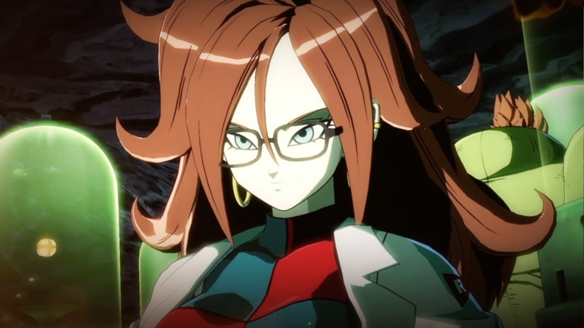Android 21's partial intro in Dragon Ball FighterZ