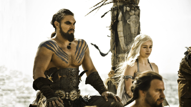 Jason Momoa as Khal Drogo