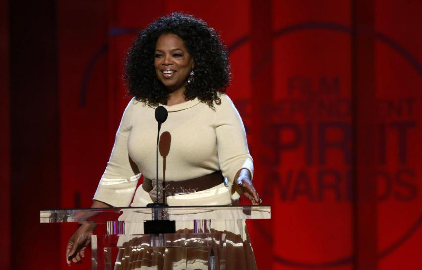 Oprah Winfrey visits grave of woman honoured in Golden Globes tribute