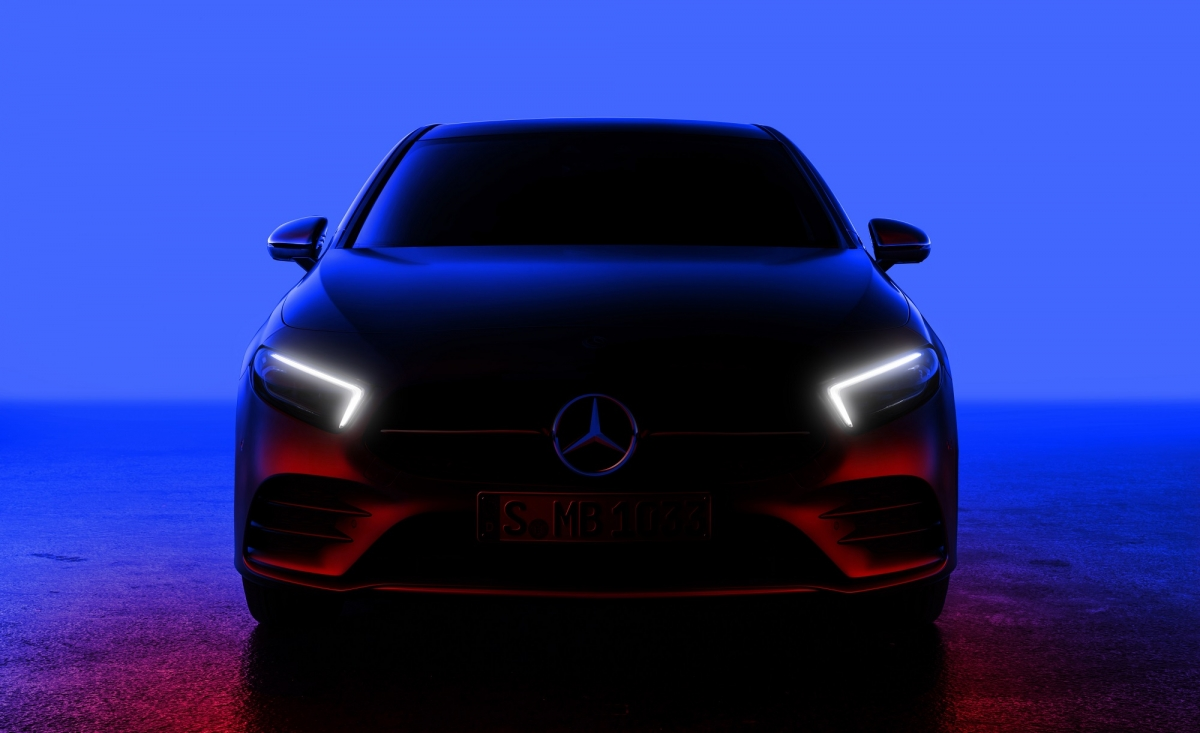 Mercedes-Benz Teases Next-Generation A-Class Before February 2 Premiere