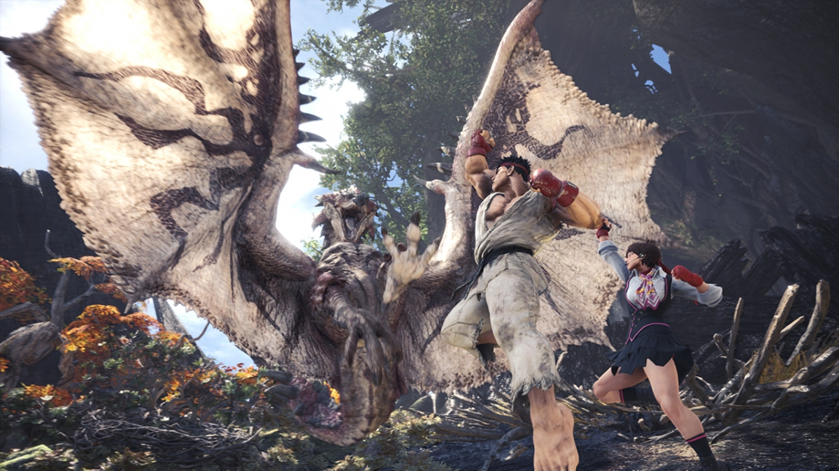 Monster Hunter World Players To Receive Free Commemorative Gift