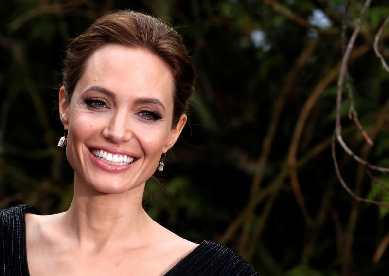 Angelina Jolie Visits NATO Headquarters to Combat Violence Against Women