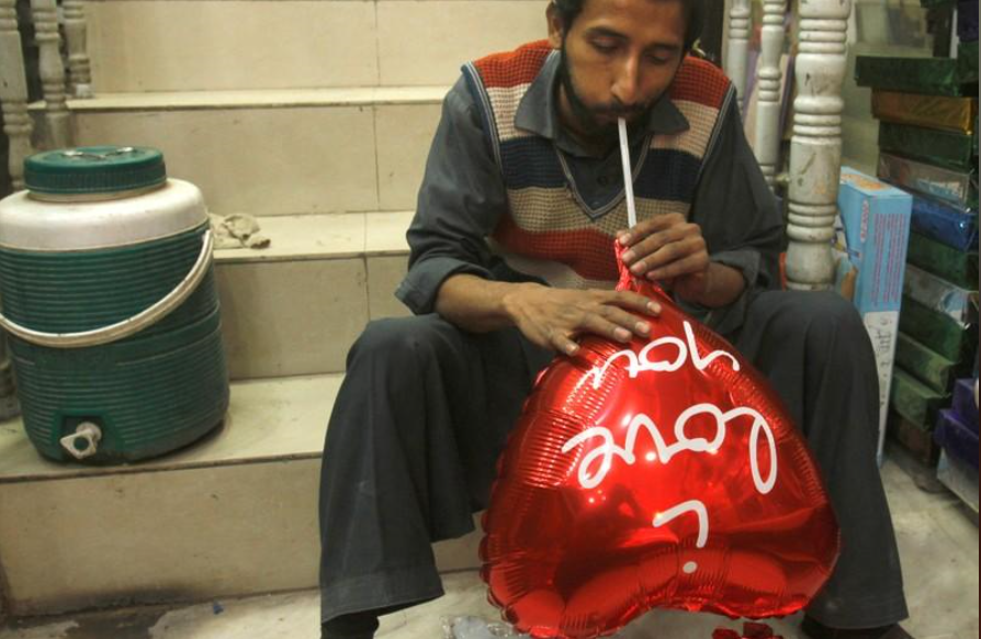 Pakistan bans Valentine's Day for promoting 'nudity and indecency'