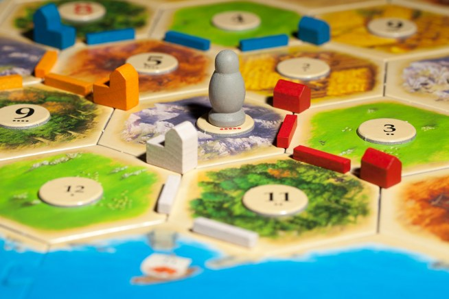 'Settlers of Catan' board game