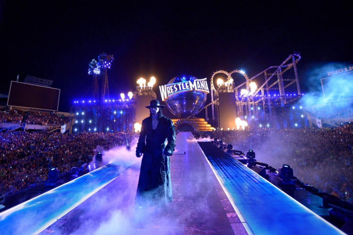 The Undertaker has been challenged by John Cena at WrestleMania