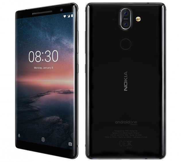 Snapdragon 845 processor and 'best' camera information leak in Nokia 9