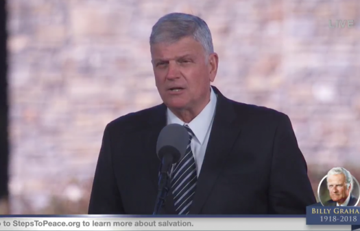 LGBTQ+ campaigners want Franklin Graham's UK tour cancelled