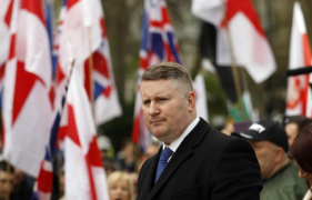 Facebook bans Britain First and its leaders Jayda Fransen and Paul Golding