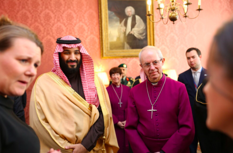 Justin Welby and Crown Prince