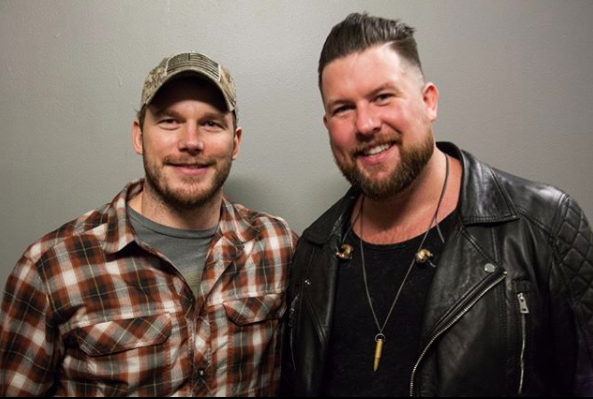 Chris Pratt and Zach Williams
