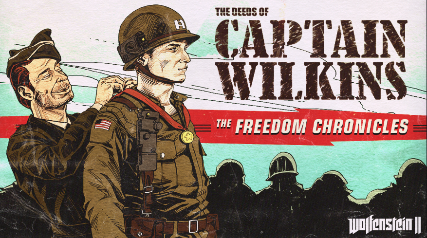 Wolfenstein 2's The Deeds of Captain Wilkins DLC comes out tonight