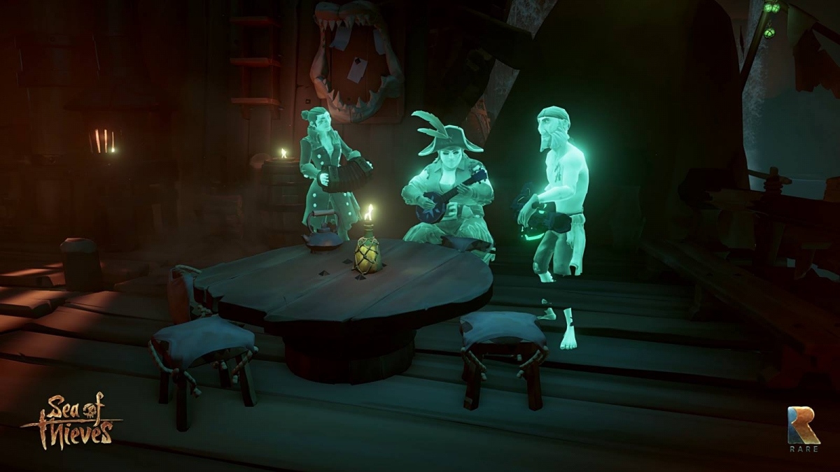 Sea of Thieves Gameplay Launch Trailer Teases The Kraken in Action