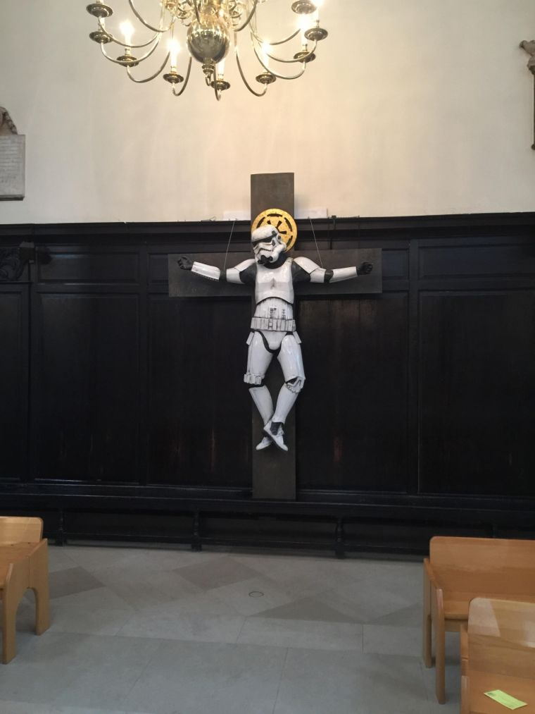stormtrooper crucified
