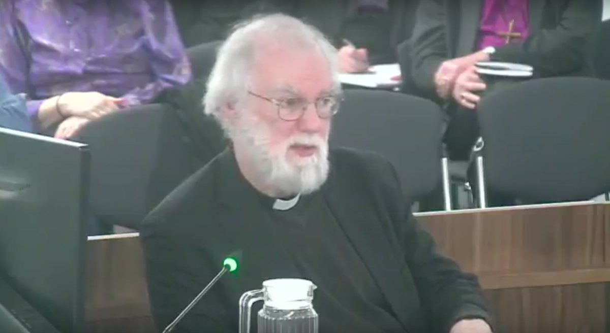 Rowan williams homosexuality and christianity