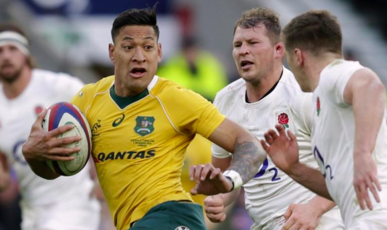 Israel Folau escapes punishment over anti-gay remarks
