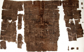 Ancient Egyptian papyrus is a Christian magical charm