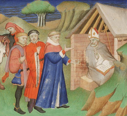 Murdered for refusing to be ransomed: Alphege of Canterbury