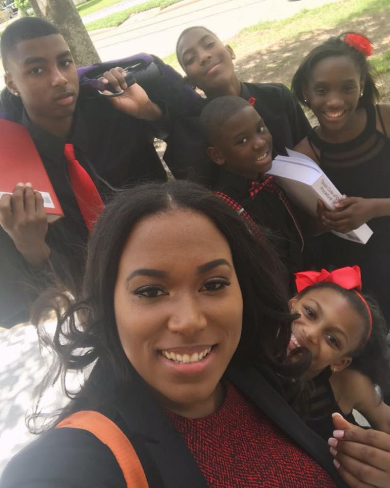 Photo By Marshall Grad Goes Viral: Single Mom Of 5 To Graduate Law School, Credits Church